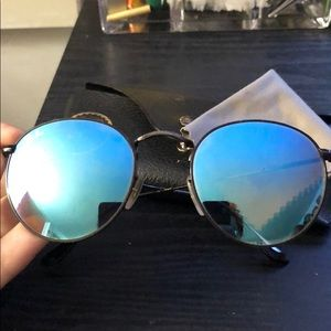 Ray Bans round metal frame